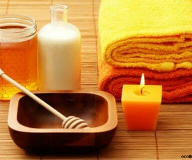 honey - natural way to dye your hair