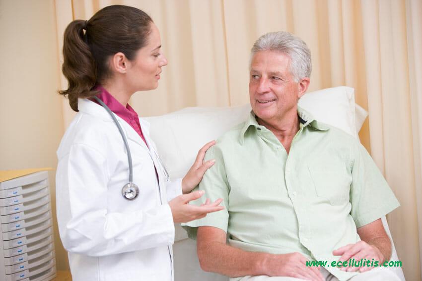 hand cellulitis medical examination