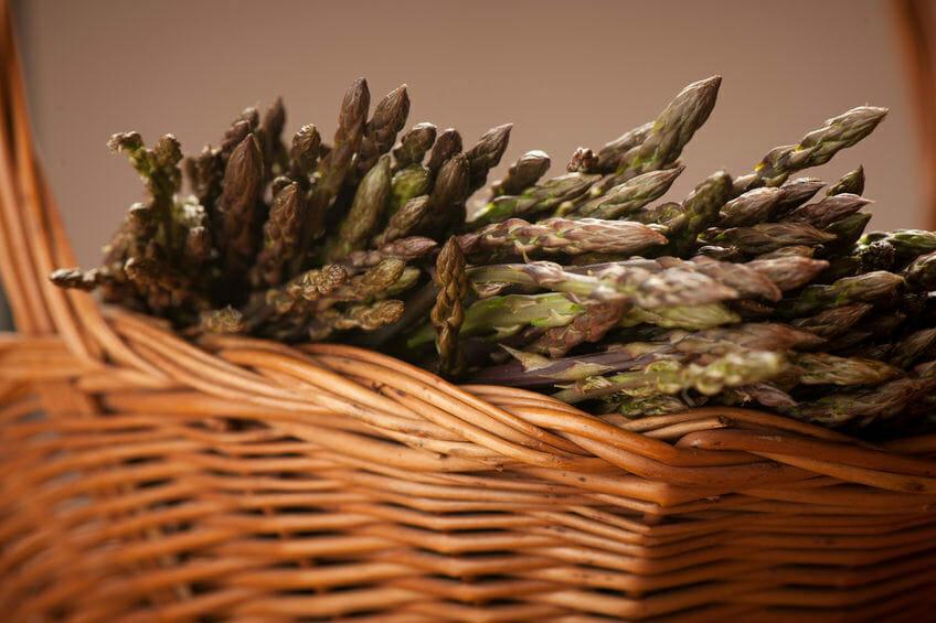 asparagus as healthy spring food