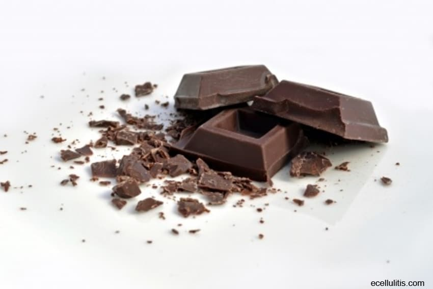 chocolate - food for stressed people