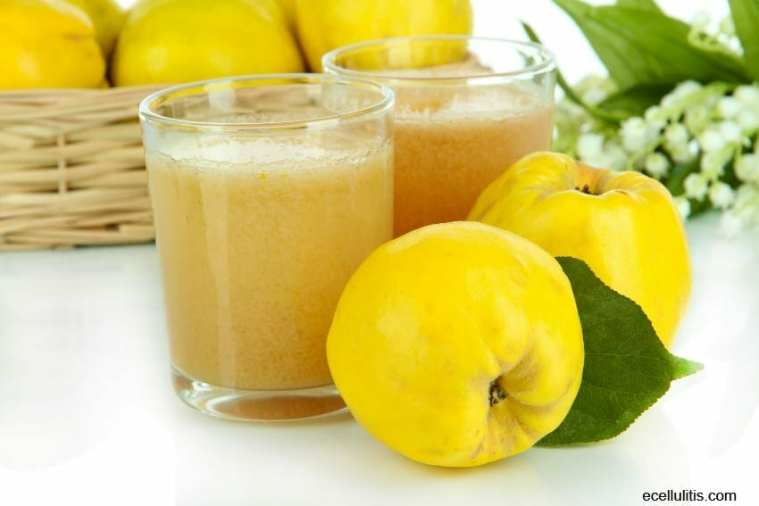 treatments with quince juice