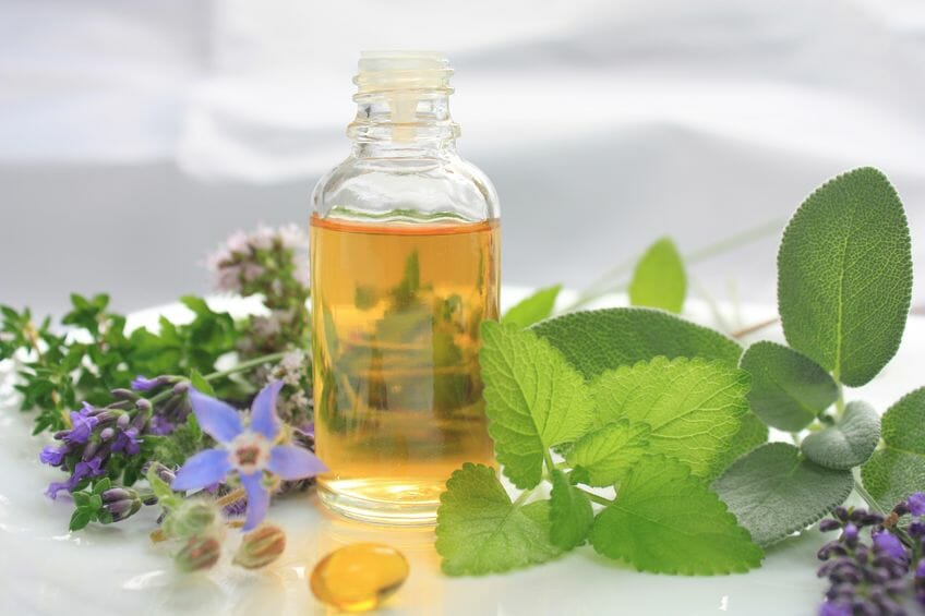 essential oils for normal hair