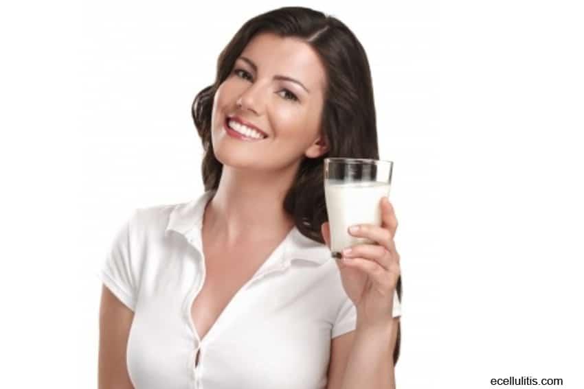 milk benefits - wrinkles