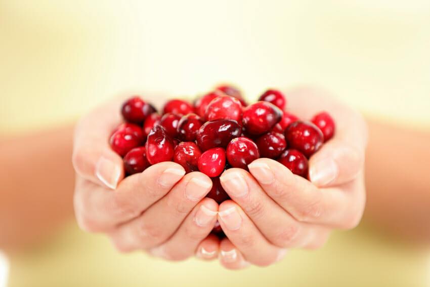 cranberries against cold