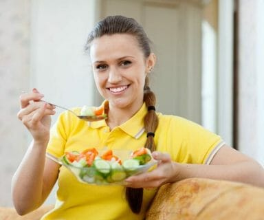 food and long healthy living