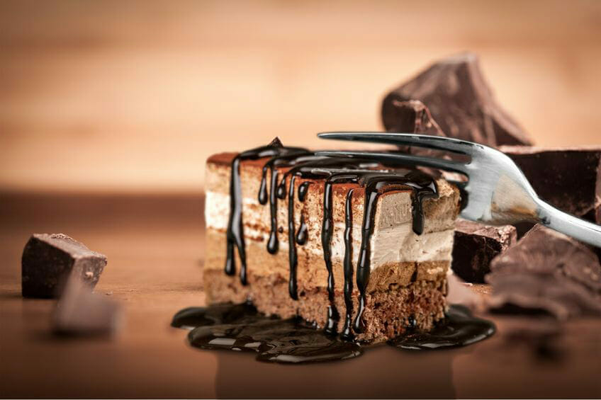 Food combining - chocolate cake - What happens when we combine our food in the wrong way?