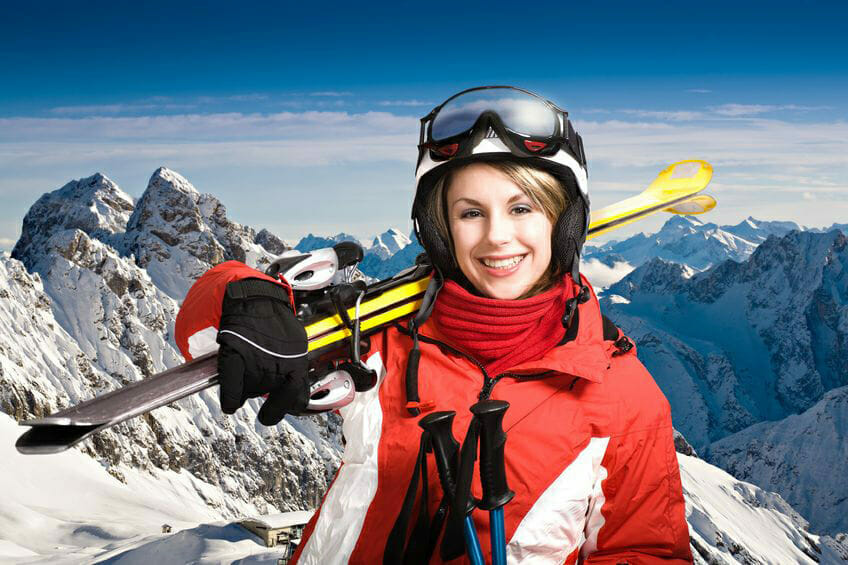 winter sports for losing weights