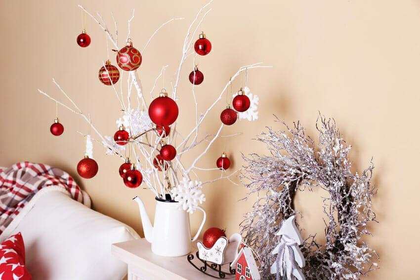 Cozy Christmas home decoration