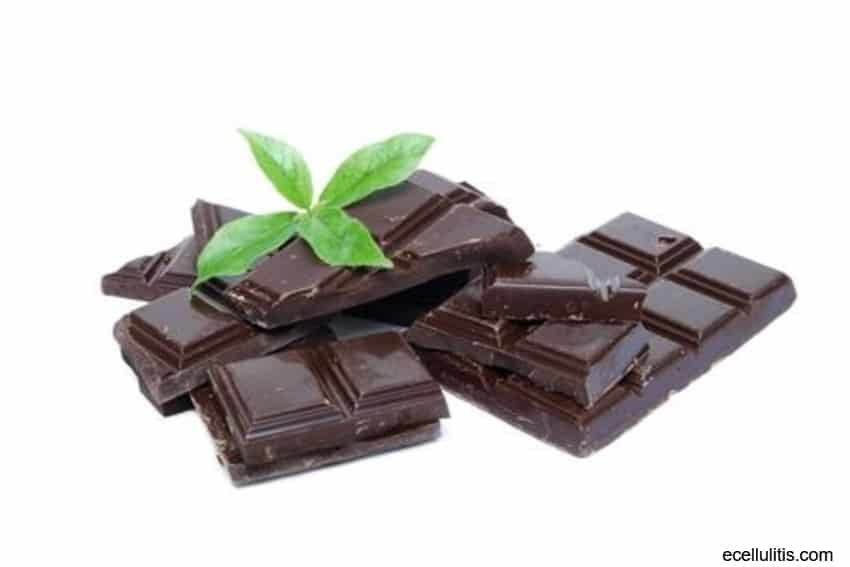 dark chocolate as antioxidant