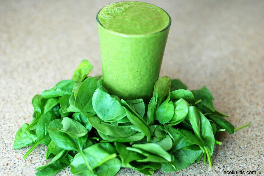 spinach - food sluggish people