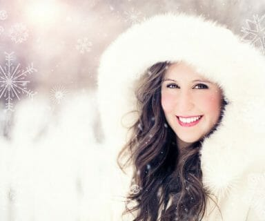 skin protection in winter - food
