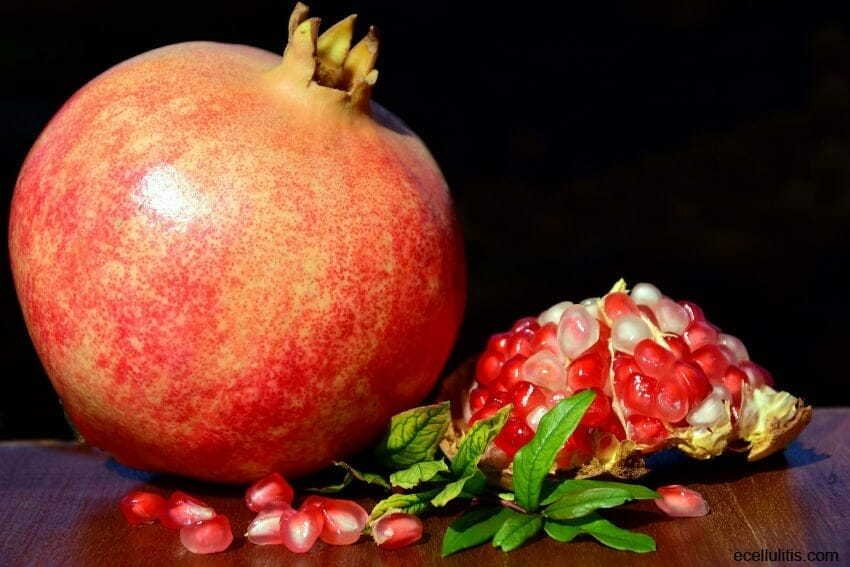 pomegranates - ward off cold and infections
