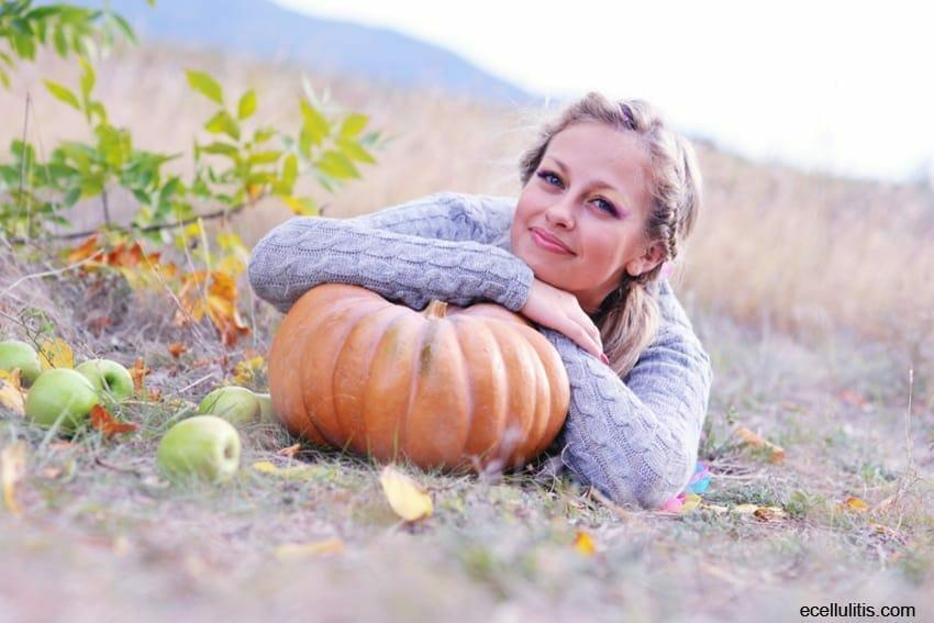 pumpkins for sharp and healthy eyesight