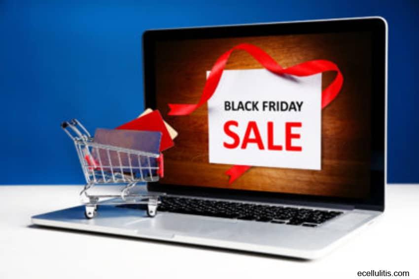 black friday - online shopping