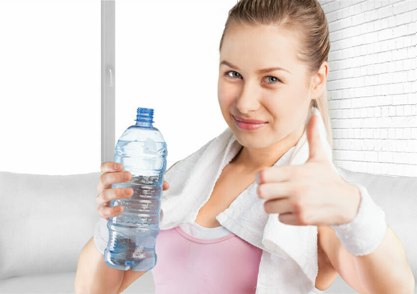 Woman talks about dehydration causes