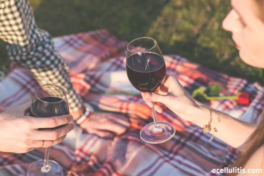 Natural Remedies for Allergies - Drinking Red Wine