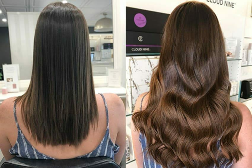 no more hours in stylist chairs - hair extensions