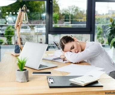 winter fatigue - why are we always tired and sleepy